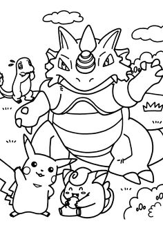 236x330 Pokemon Coloring Pages Download Pokemon Images And Print Them