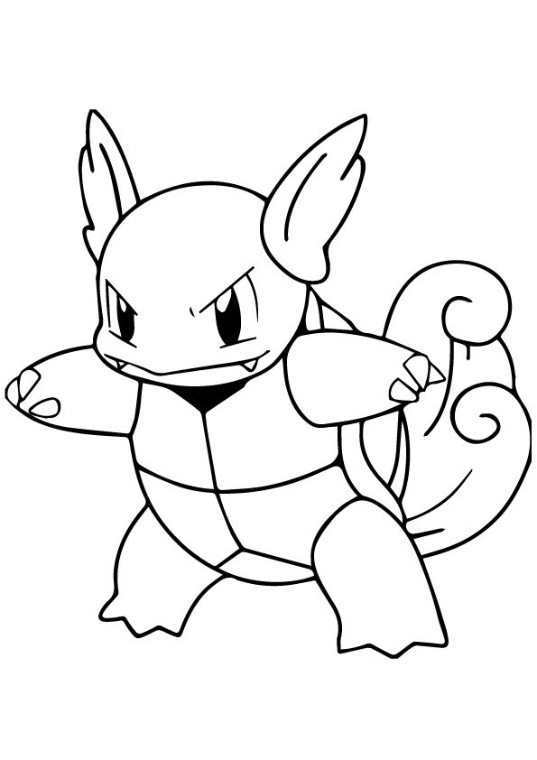 595x842 Best Pokemon Coloring Pages Images On Kids