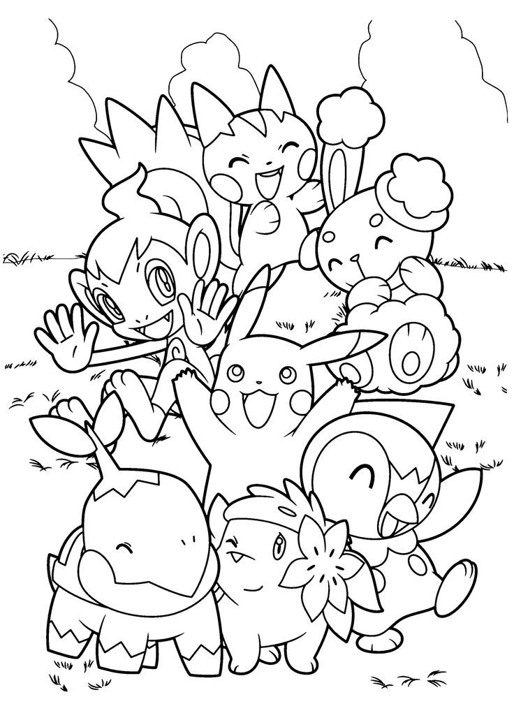 736x1031 Pokemon Coloring Pages For Adults