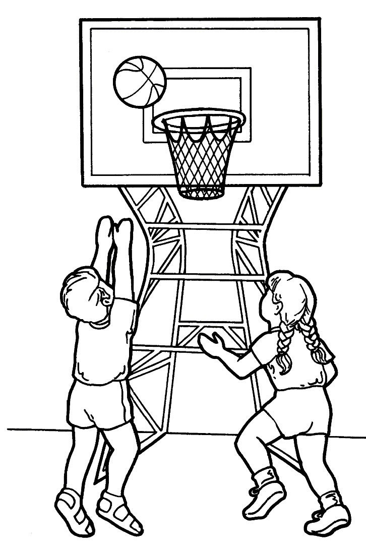 726x1093 Kids Sports Coloring Pages
