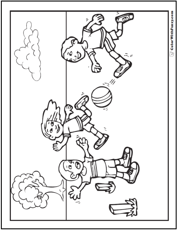 590x762 Sports Coloring Pages For Kids Sports Coloring Sheets