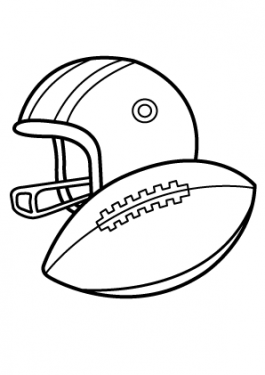 265x375 Sports Coloring Pages For Kids Free, Printable