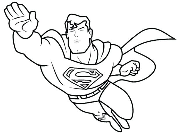 615x461 Superhero Coloring Pictures Superhero Coloring Pages For Kids