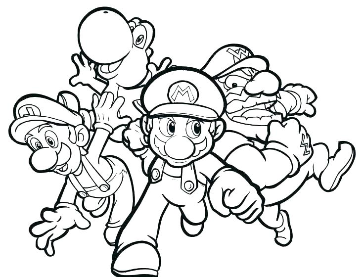 736x560 Superhero Coloring Pages For Toddlers
