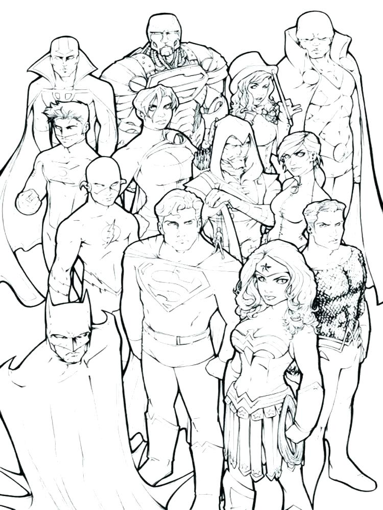 750x1000 Marvel Comic Coloring Pages Marvel Comic Coloring Pages