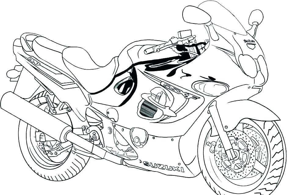 940x639 Monster Truck Coloring Page Coloring Truck Monster Truck Coloring