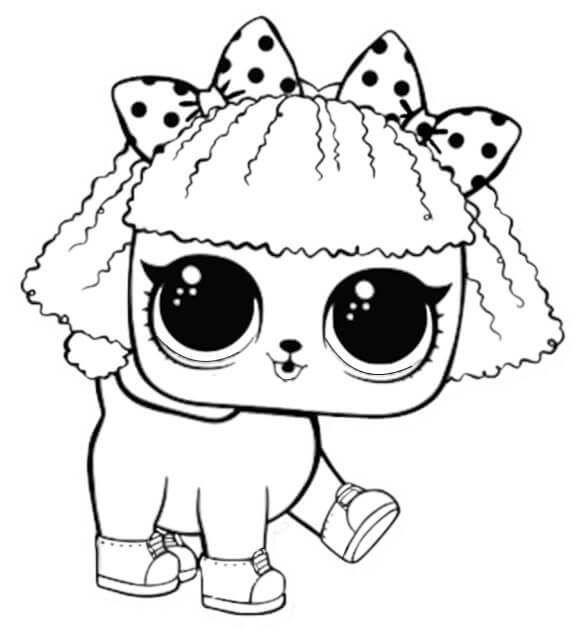 578x641 Free Printable Lol Surprise Pet Coloring Pages