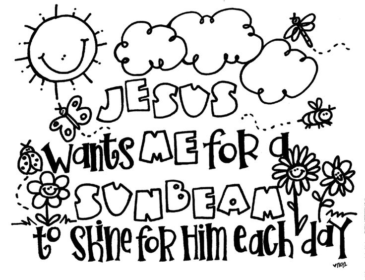 Coloring Pages For Childrens Church At Getdrawings Free Download