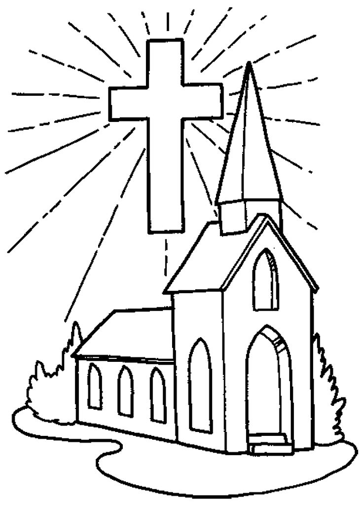 736x1025 Free Printable Coloring Pages Childrens Church