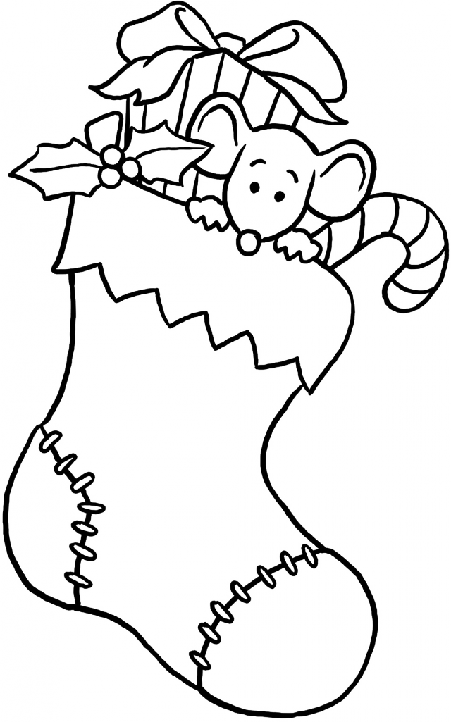 photo about Christmas Stocking Printable named Coloring Web pages For Xmas Stockings at
