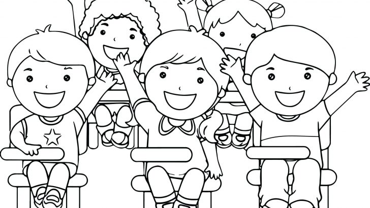 728x410 Teacher Student Coloring Pages Caterpillar Colouring Page Pencil