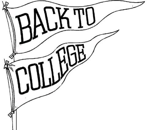 480x425 Coloring Pages For College Students Back To College Coloring Page