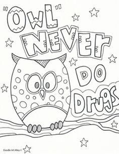 236x304 Red Ribbon Week Coloring Pages School Red Ribbon