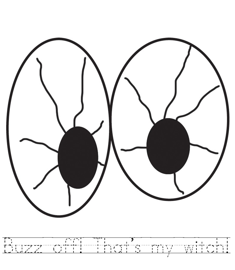 799x919 Spooky Eyes Coloring Pages