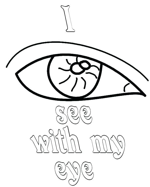 576x720 Astounding Eyes Coloring Pages Eyes Coloring Page Eyeball Coloring