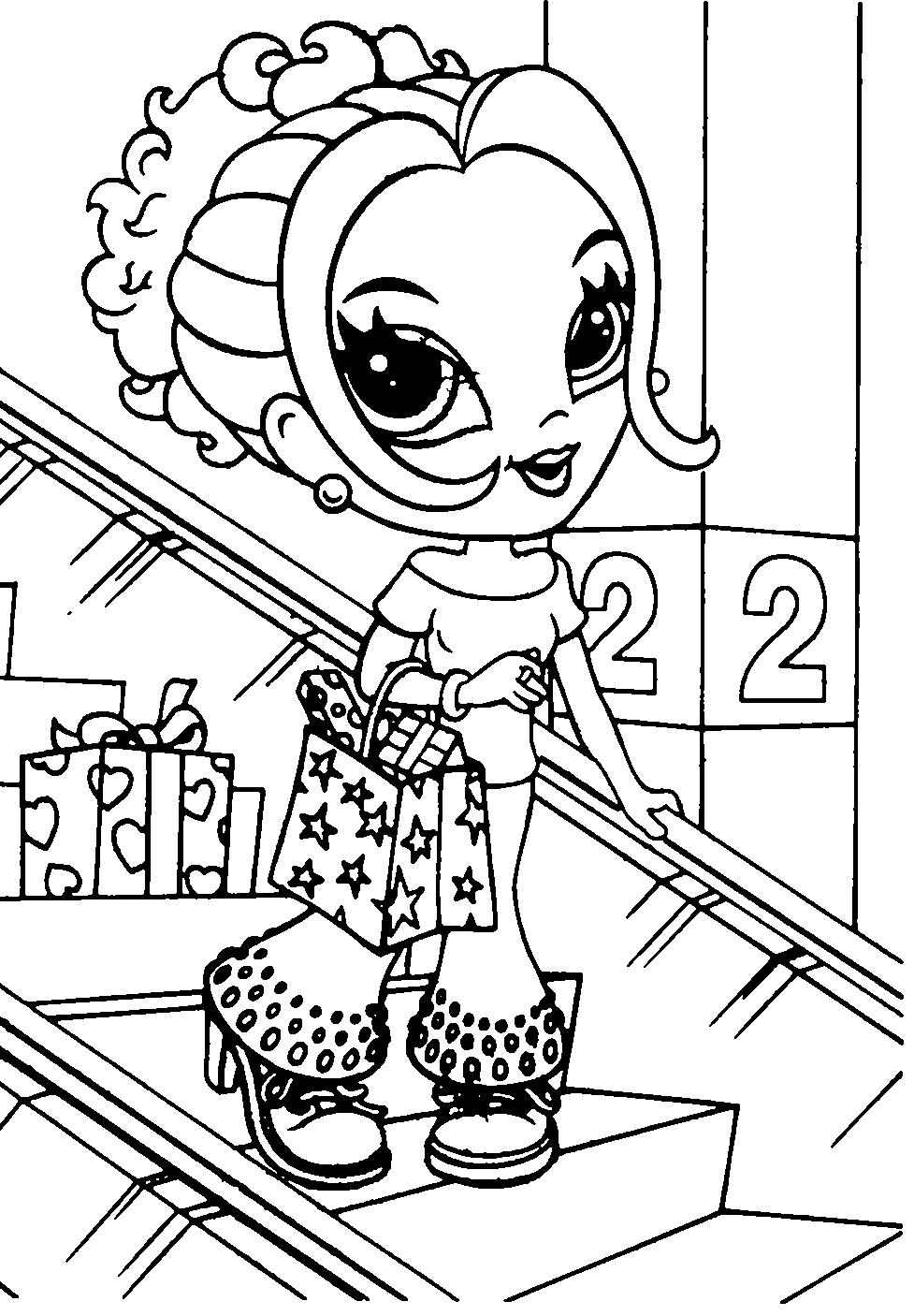 977x1406 Best Of Shopkins Girls Coloring Pages Collection Printable