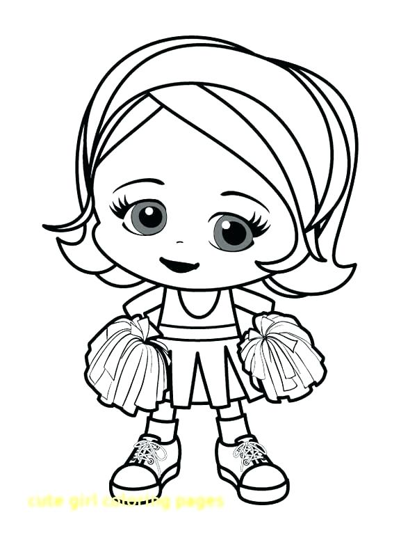 600x776 Cute Girl Coloring Pages Baby Coloring Pages Cute Cute Girl