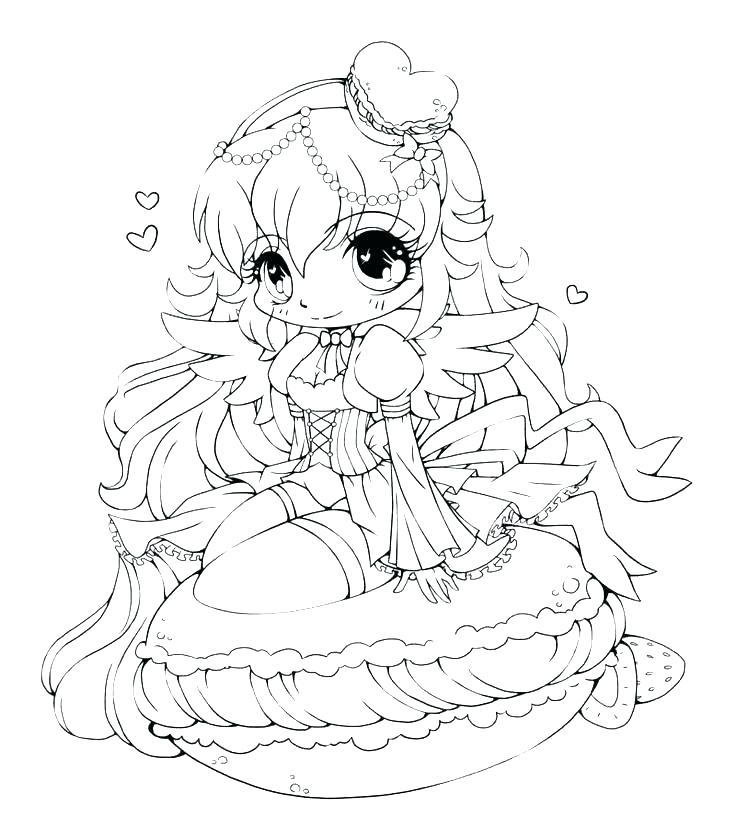 736x838 Cute Girl Coloring Pages Girl Coloring Pages Fresh Anime Girl