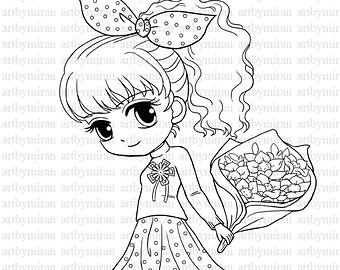 Collection Coloring Pages Of Girly Things Pictures ...