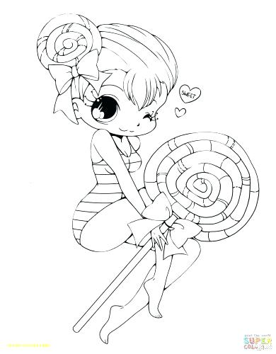 390x500 Chibi Anime Coloring Pages Anime Fox Girl Anime Coloring Page Fox