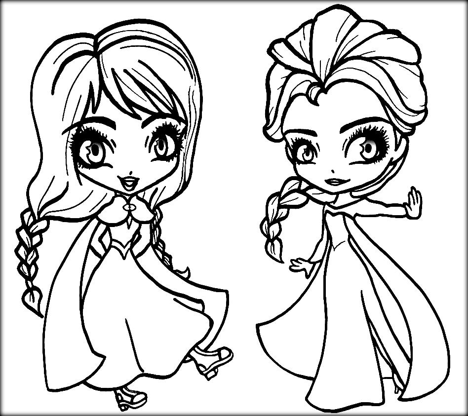 948x843 Elsa Frozen Coloring Pages Coloringsuite For Girls