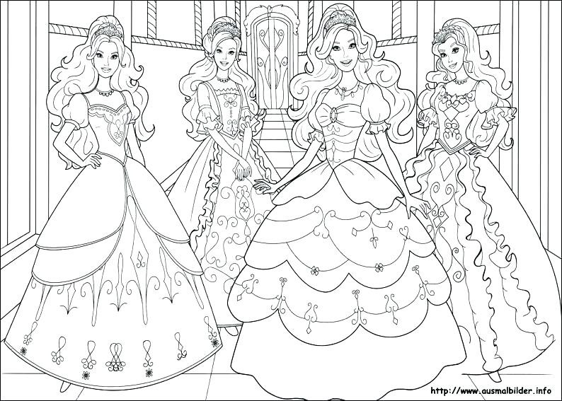 794x567 Barbie Girl Coloring Pages Games Printable Merry