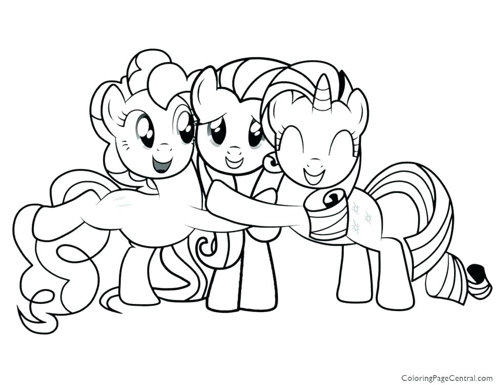 970x750 My Pretty Pony Coloring Pages My Little Pony Coloring Games Online