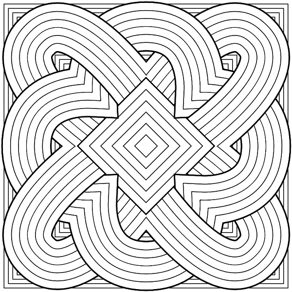 600x600 Hard Coloring Page To Print Print Color Craft