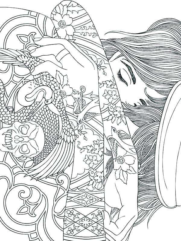 600x797 Designs Coloring Pages Hard Coloring Pages Photo Mandalas Coloring