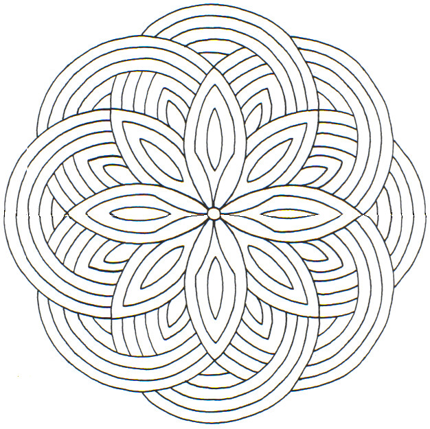 626x625 Hard Coloring Pages