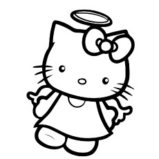 230x230 Top Free Printable Hello Kitty Coloring Pages Online