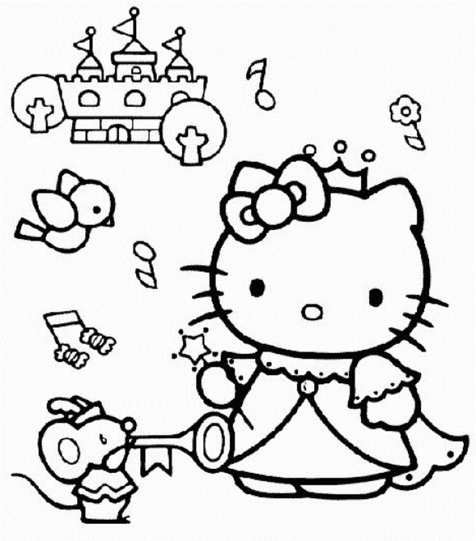1803x2048 Coloring Pages For Girls Hello Kitty