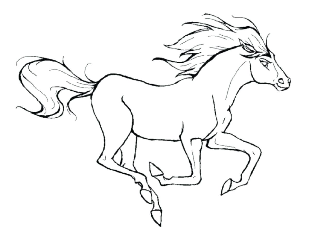 Coloring pages for girls horses at getdrawings com free for