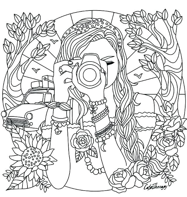 Coloring Pages For Girls Pdf At Getdrawings Free Download