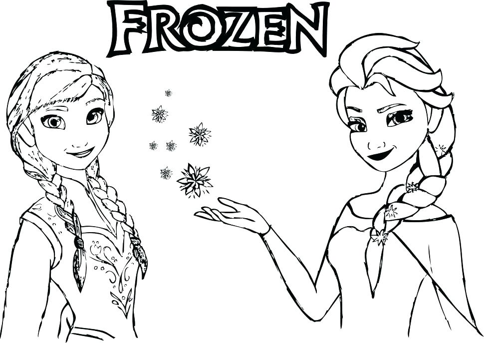 970x687 Frozen Coloring Pages Pdf Together With Free Printable Frozen