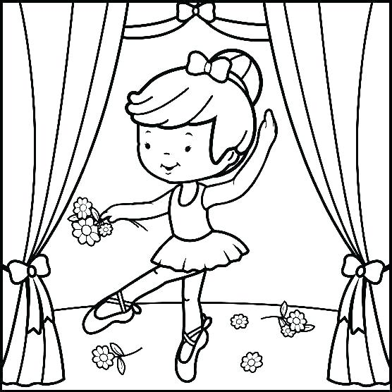 556x556 Ballerina Coloring Pages Shoes Coloring Pages Lovely Ballet