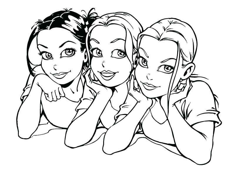 Coloring Pages For Girls Teens at GetDrawings.com | Free for ...