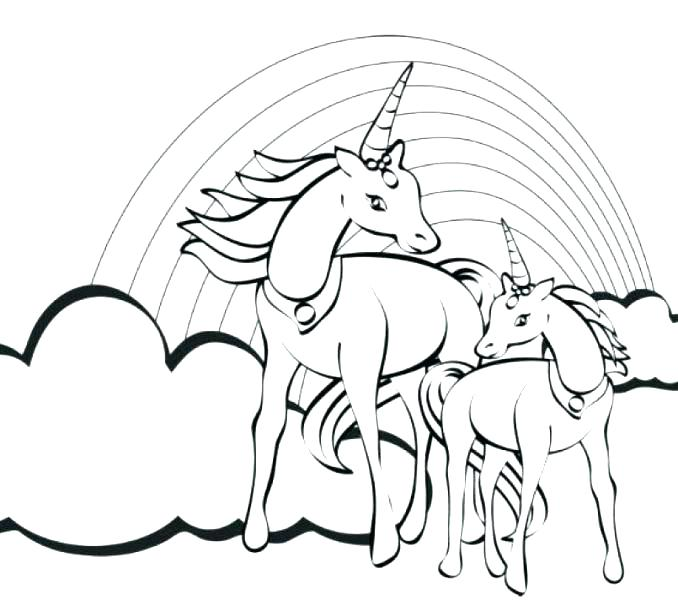 Coloring Pages For Girls Unicorn