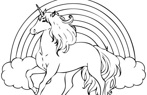 469x304 Coloring Pages For Girls Unicorns With A Lot Of Detal Just Colorings