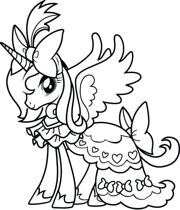 600x700 Coloring Pages For Girls Free Unicorn Coloring Pages For Girls