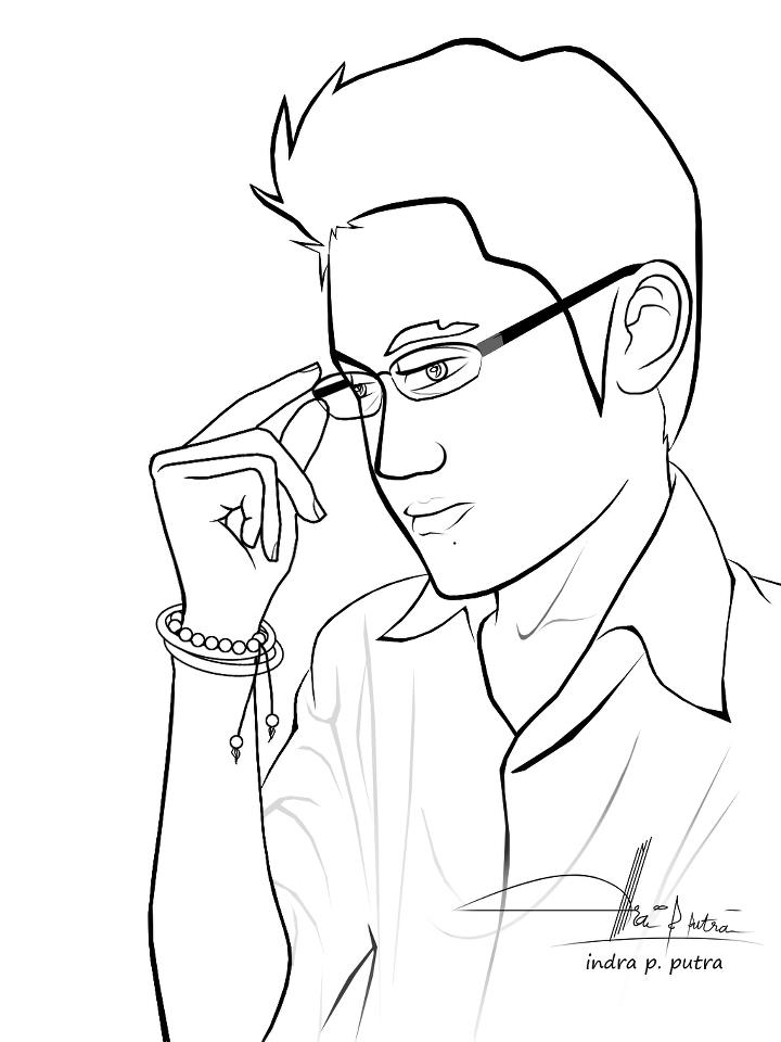 720x960 Coloring Pages For Men