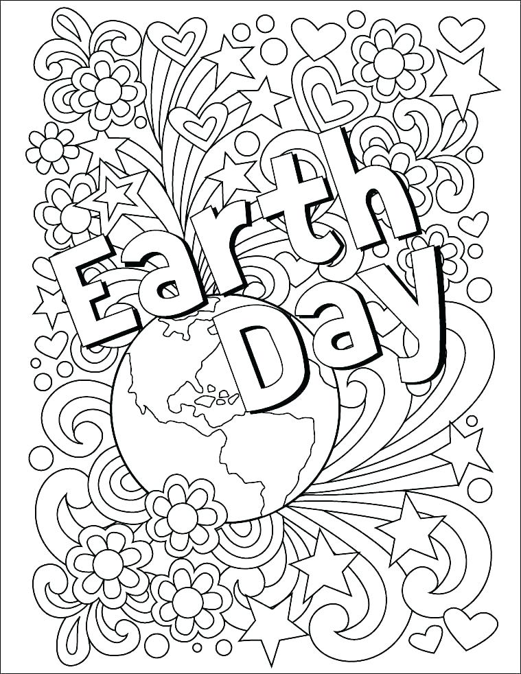 759x982 Earth Day Coloring Pages Earth Day Printable Coloring Free Pages