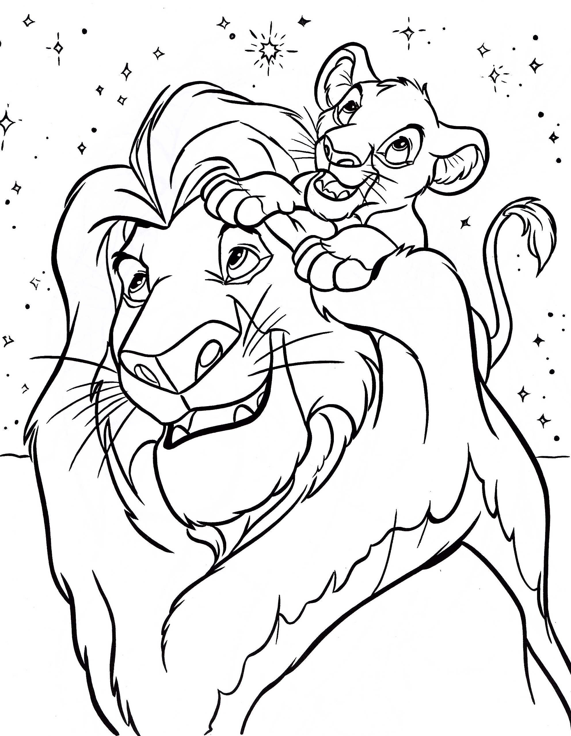 1984x2555 Free Printable Simba Coloring Pages For Kids
