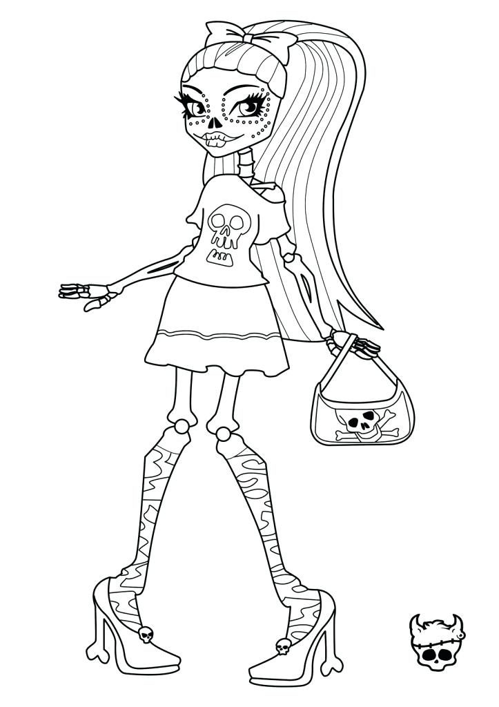723x1024 Coloring Pages And Coloring Books Monster High Free Printable