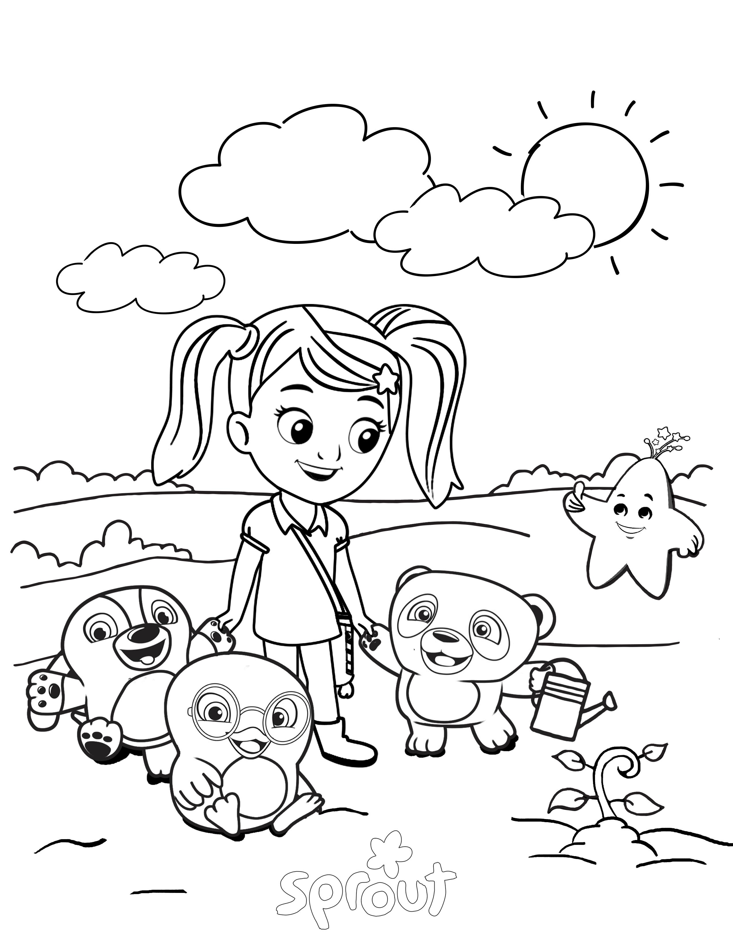 2550x3300 Coloring Pages Kids Com