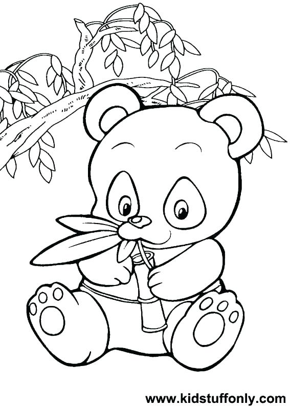 567x794 Panda Bear Coloring Pages Printable Coloring Pages For Kid Panda