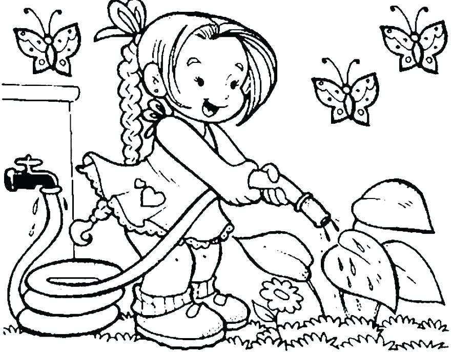 880x696 Child Coloring Page Happy Earth Day Coloring Page Kids Crafts