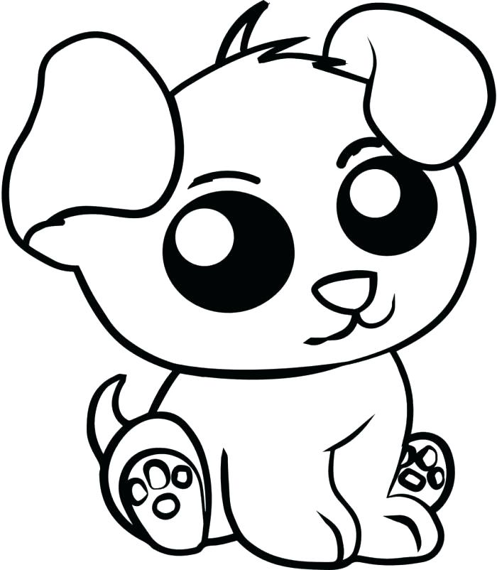 700x802 Cute Animal Coloring Pages Beautiful Cute Animals Coloring Pages