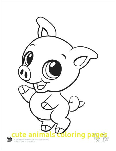 405x524 Cute Animals Coloring Pages