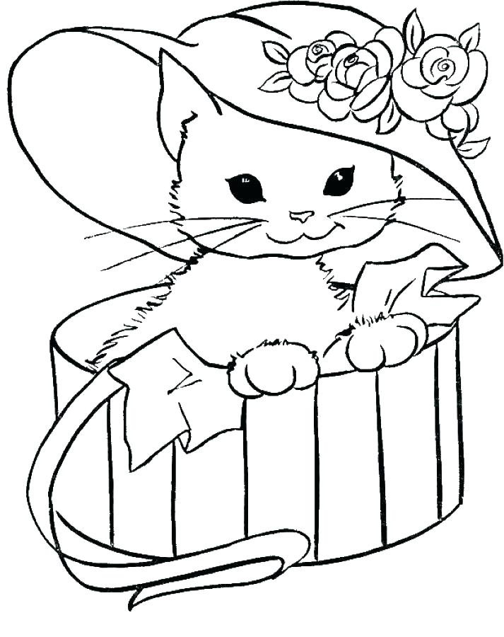 713x900 Cute Baby Animal Coloring Pages To Print Kids Animals A Plus Cute